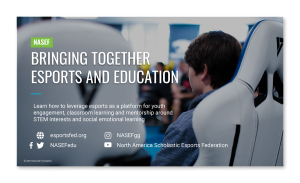 NASEF - Bringing together esports and education (videos)