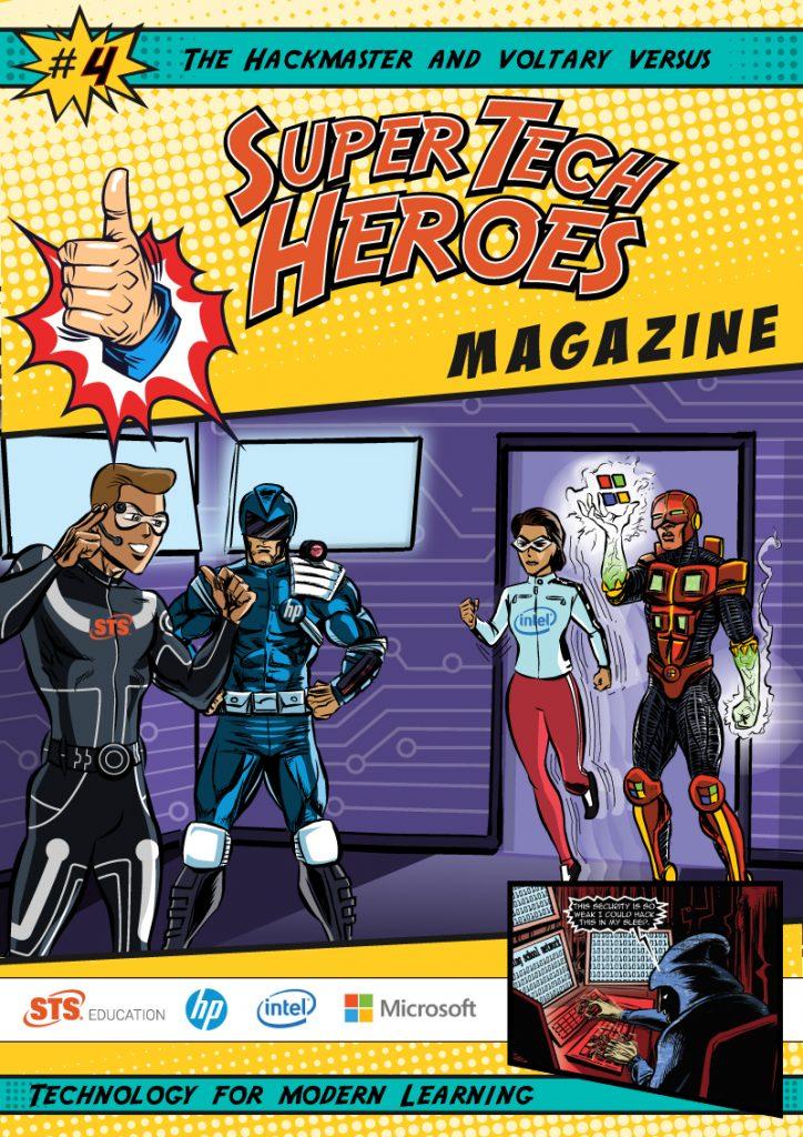 SuperTech Heros - Comic